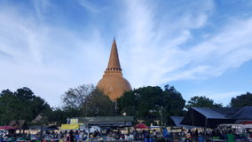 Der große Tempel Stockfotos