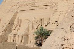Der große Tempel von Ramesses II Abu Simbel, Ägypten Stockfotografie