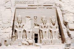 Der große Tempel von Ramesses II, Abu Simbel, Ägypten Lizenzfreies Stockfoto