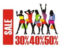 Der große Verkauf 3 lizenzfreie stockfotos