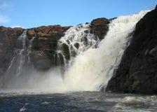 Der große Wasserfall Stockbild
