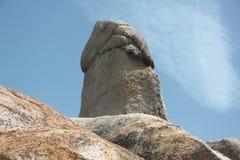 Der großväterliche Felsen 2 in Samui-Insel in Thailand Stockfotos