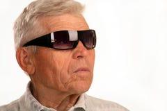 Der Großvater, der gut schaut stockbilder