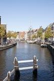 Der A, Groningen, Holland Hoge und Lage Stockbilder