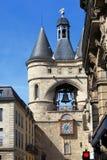 Der Grosse Closhe Glockenturm, Bordeaux Lizenzfreie Stockbilder