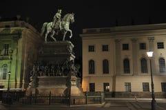Der Grosse di Friedrich del monumento Fotografia Stock Libera da Diritti