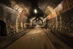 Der Grundstein-Tunnel stockfotos