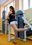 In der Gymnastik lizenzfreies stockfoto