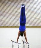 An der Gymnastik Stockbild
