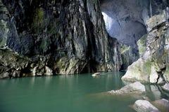 In der Höhle Lizenzfreie Stockfotografie
