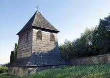Der hölzerne Glockenturm Lizenzfreie Stockfotos