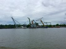 Der Hafen Lizenzfreie Stockfotos