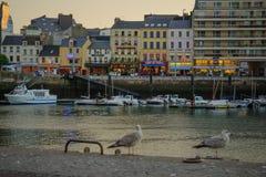 Der Hafen in Cherbourg Lizenzfreies Stockfoto