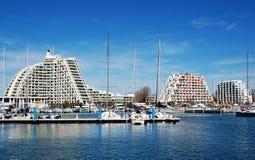 Der Hafen des La-Grande Motte, Frankreich Stockfoto