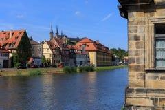 Der Hafen von Bamberg Stockfotos