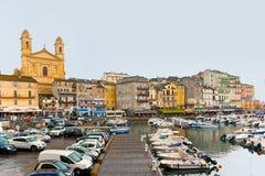 Der Hafen von Bastia Lizenzfreies Stockfoto
