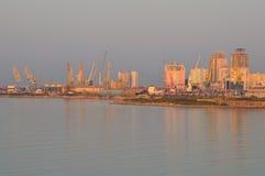 Der Hafen von Durres Stockfotografie