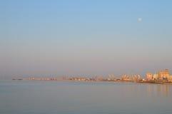 Der Hafen von Durres Stockfotos