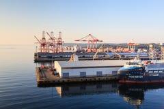 Der Hafen von Halifax Stockbilder