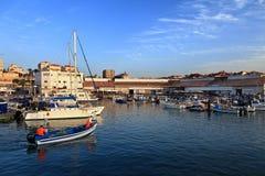 Der Hafen von Jaffa stockbild