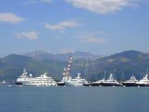 der Hafen von Montenegro Lizenzfreies Stockfoto