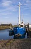 Der Hafen von Nieuw-Beijerland Stockbilder