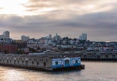 Der Hafen von San Francisco Lizenzfreie Stockbilder