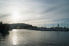 der Hafen von Tanger Lizenzfreie Stockbilder