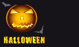 Der Halloween-Kürbis Lizenzfreie Stockfotografie