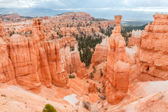 Der Hammer des thors in Bryce Canyon National Park in Utah, USA Lizenzfreies Stockbild
