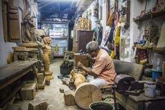 Der Handwerker stockfotos