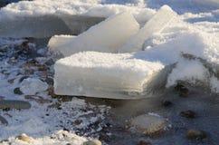 Der harte Winter Stockfotografie