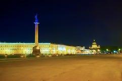 Der Hauptplatz von St Petersburg, Russland Lizenzfreie Stockfotografie