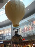 Der Heißluftballon stockbilder