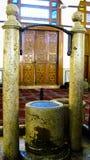 Der heidnische Altar und der Brunnen in Umayyad-Moschee, Damaskus, Syrien Stockbild