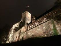 Der heidnische Turm von Nürnberg-Schloss stockfotos