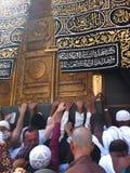 Der heilige Glanz im Mekka Stockfotografie