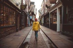 Der heillose Durcheinander in York, Großbritannien lizenzfreie stockfotos