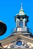 Der Helm der schwedischen Akademie Stockfotografie