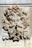 Der Herbst, Brunnen von Charles V, Alhambra-Palast in Granada, Spanien Lizenzfreie Stockbilder