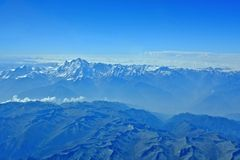 Der Himalaja und das k2 Lizenzfreies Stockfoto