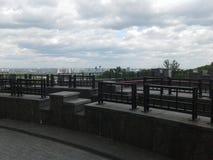 Der Himmel über dem Park Stockbild