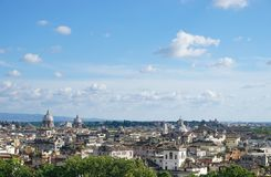Der Himmel über Rom Stockfoto