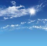Der Himmel Stockbild