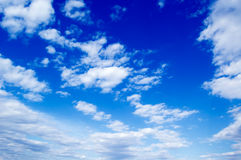 Der Himmel. Lizenzfreies Stockbild