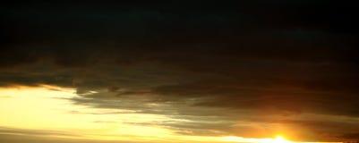 Der Himmel auf einer Abnahme Stockfotos