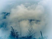 Der Himmel, Berge Stockbilder