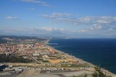 Der Himmel, das Land und das Meer Lizenzfreie Stockbilder