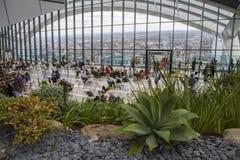Der Himmel-Garten bei 20 Fenchurch der Straße in London Stockfotografie