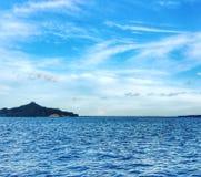 Der Himmel ist blau Stockfotografie